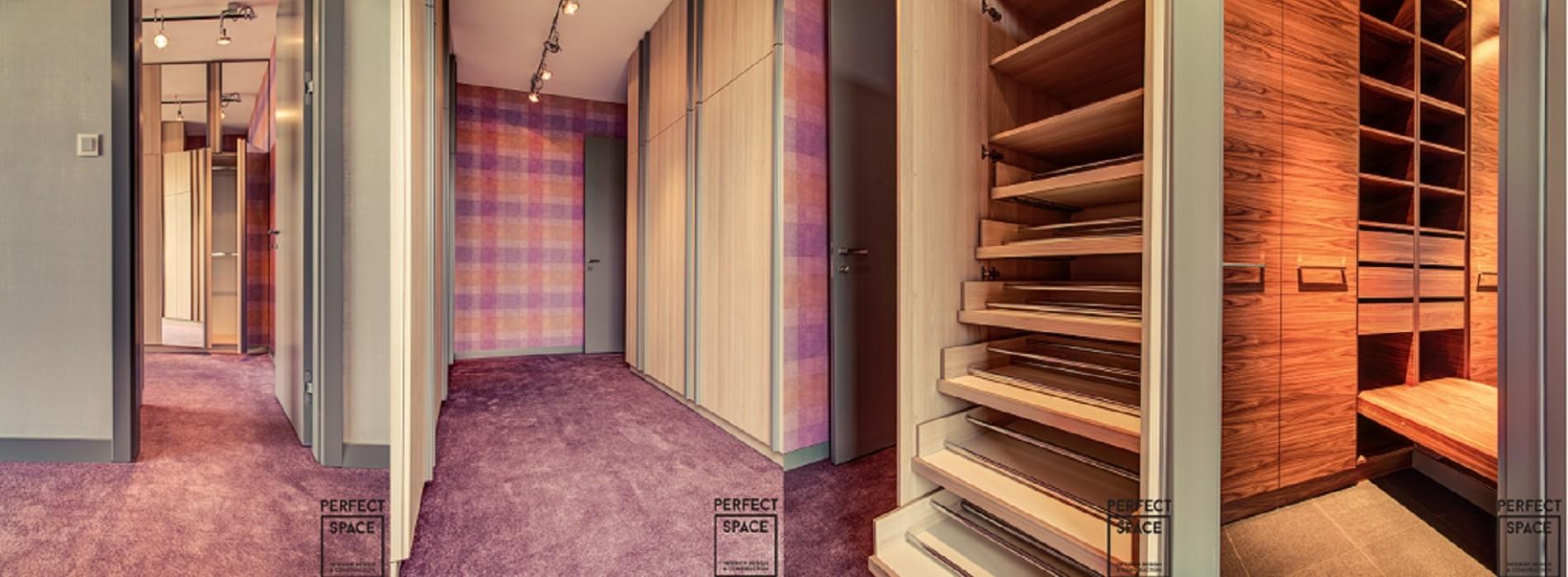 Drążki, półki i lustra. Jak właściwie zaprojektować garderobę?