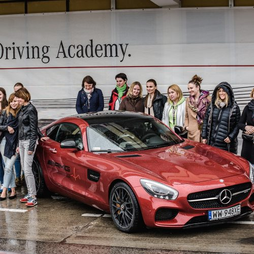 Wyjątkowa oferta AMG Driving Academy: AMG LADY-Traning