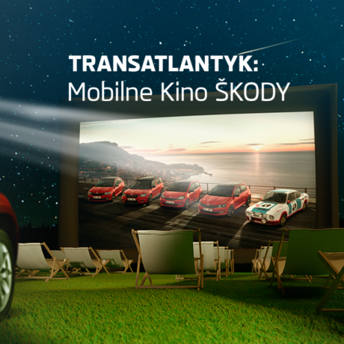 Transatlantyk Festival – Mobilne kino Skoda już od 1 lipca w Wielkopolsce