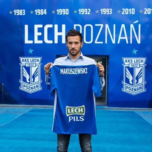 Maciej Makuszewski czwartym wzmocnieniem Lecha