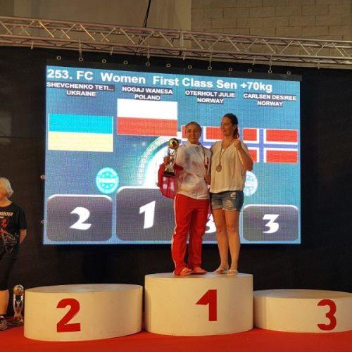 Puchar Świata w kickboxingu dla poznańskiej policjantki