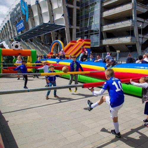 Lech Poznań – Przed meczami ligowymi specjalne atrakcje dla najmłodszych