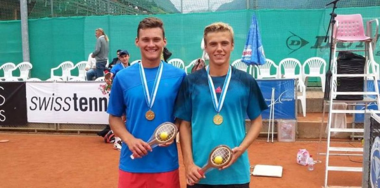 Piotr Matuszewski z Kalisza – pierwszy w historii Polski mistrz Europy juniorów w tenisie