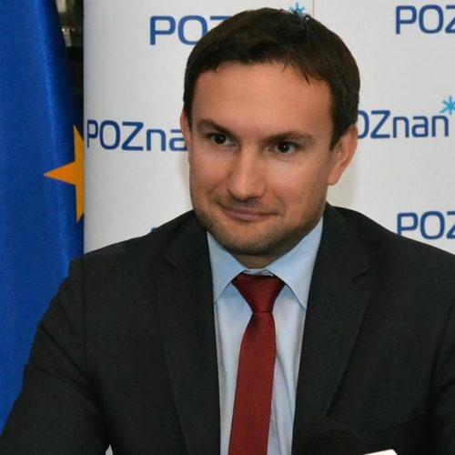 Tomasz Lewandowski nowym wiceprezydentem Poznania