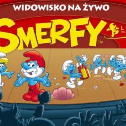 Smerfy w poznańskiej Arenie