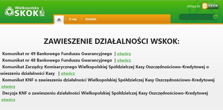 Upadłość SKOK Wielkopolska – co z pieniędzmi klientów?