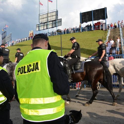 POLICYJNE ZABEZPIECZENIE DRUŻYNOWEGO PUCHARU ŚWIATA NA ŻUŻLU