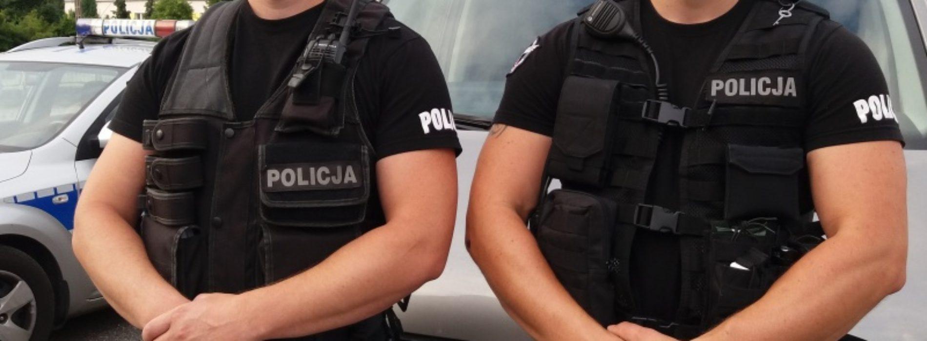 POLICJANCI URATOWALI CZŁOWIEKA