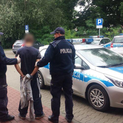 POLICJANCI ZATRZYMALI SPRAWCÓW WŁAMANIA